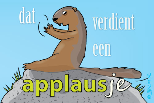 Kaart: Een applausje