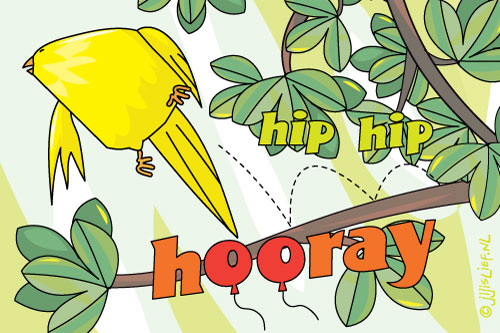 Kaart: Hip hip hooray